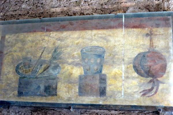 taberna menu in Ostia Antica, Crystal King c 2013