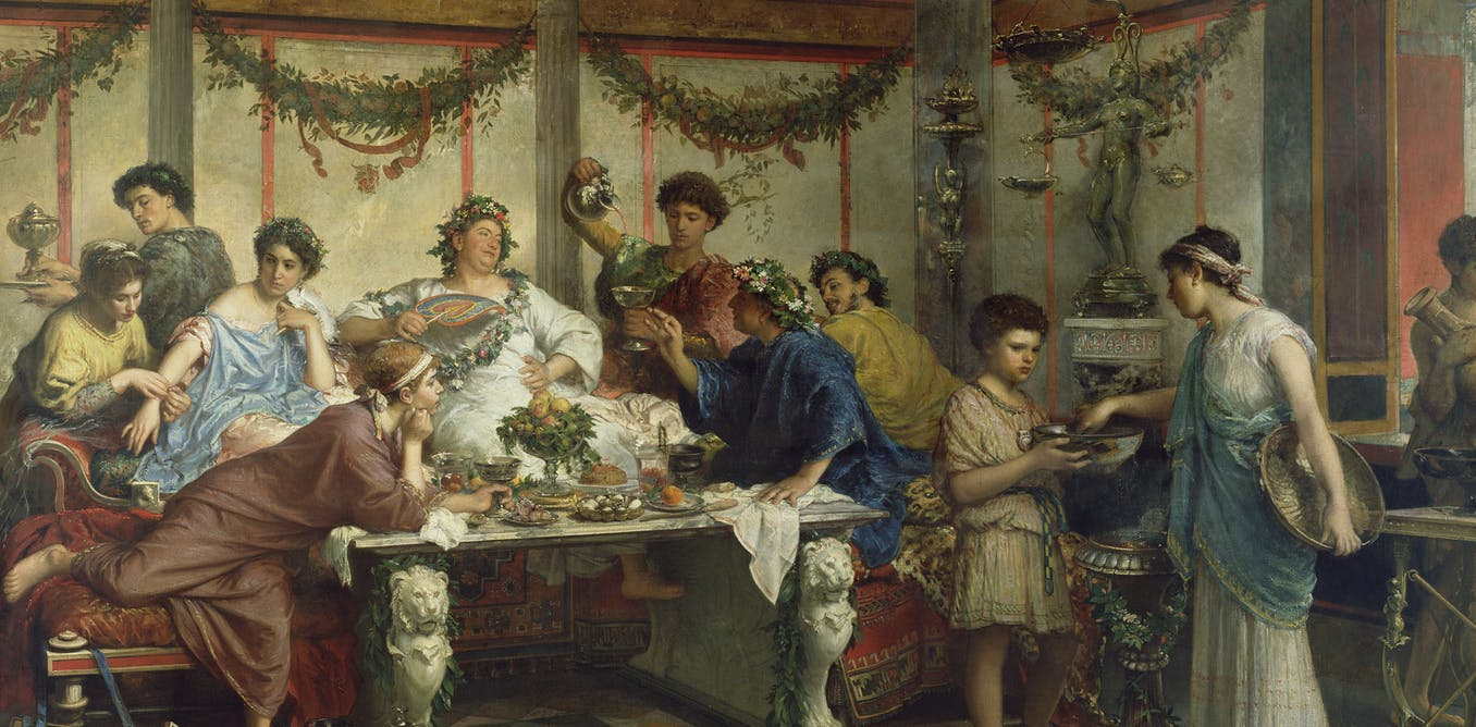 The Food of Ancient Rome