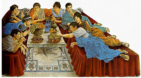triclinium in ancient rome