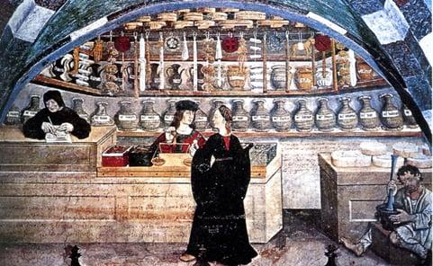 Spezeria, an Italian apothecary