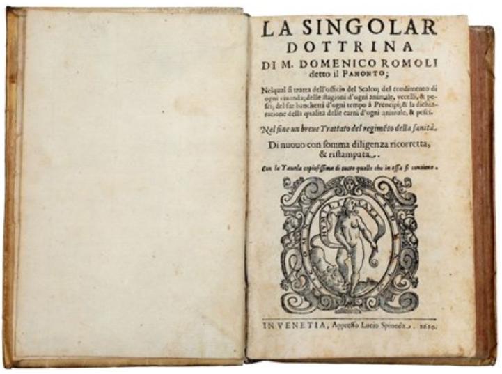 Domenico Romoli  La Singolar Dottrina
