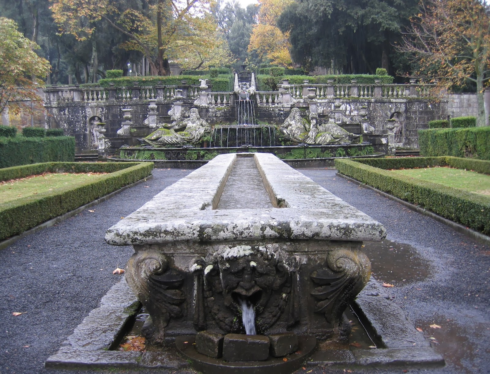 Villa Lante garden table