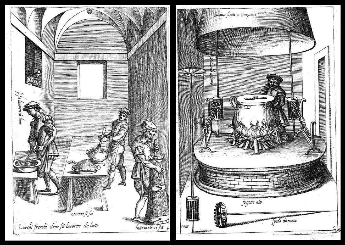 L'Opera di Bartolomeo Scappi kitchen illustration